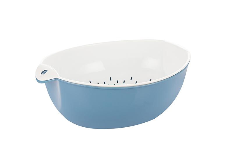 椭圆形滴水篮小号(FS-7662-蓝)